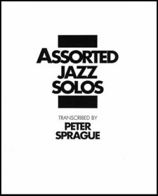Assorted Jazz Solos Book