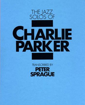 Charlie Parker Solos Book
