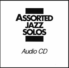Assorted Jazz Solos CD