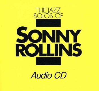 Sonny Rollins Solos Book CD