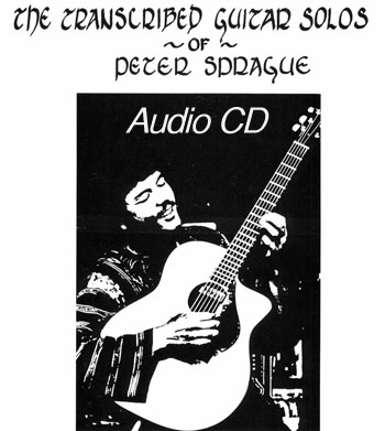 The Transcribed Solos of Peter Sprague CD