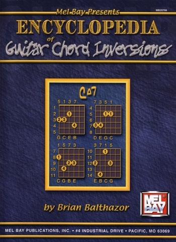 Encyclopedia of Guitar Chord Inversions Book